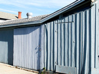 gray shed